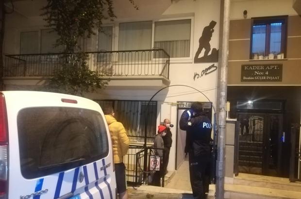 Komşu ihbar etti polis 2 hırsızı da yakaladı 2'inci katın balkonundan atlayan hırsızlar polislerden kaçamadı