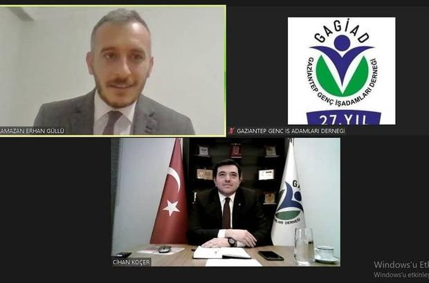 """GAGİAD """"Milli Mücadele Döneminde Gaziantep"""" söyleşisinde buluştu"""