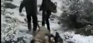 Dağ keçisi avlayan avcılar sosyal medyanın gündeminde
