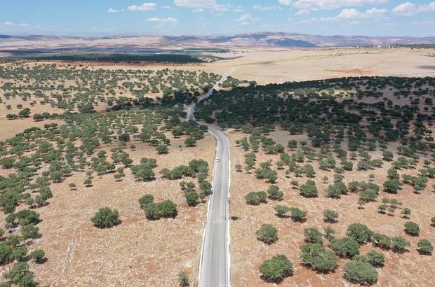 2020 yılında yol çalışması kapsamında 258 bin ton asfalt kullandı