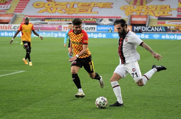 Süper Lig: Göztepe: 1 - Fatih Karagümrük: 1 (Maç sonucu)