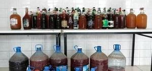 Tekirdağ'da 1 tona yakın sahte içki ele geçirildi
