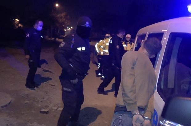 Ters şeritten giderken polisten kaçtı, yakalanınca ağlamaya başladı