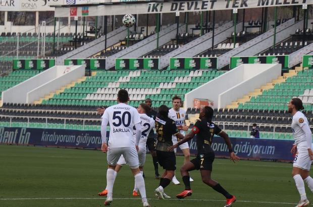 Süper Lig: Yukatel Denizlispor: 0 - Ankaragücü: 2 (İlk yarı)
