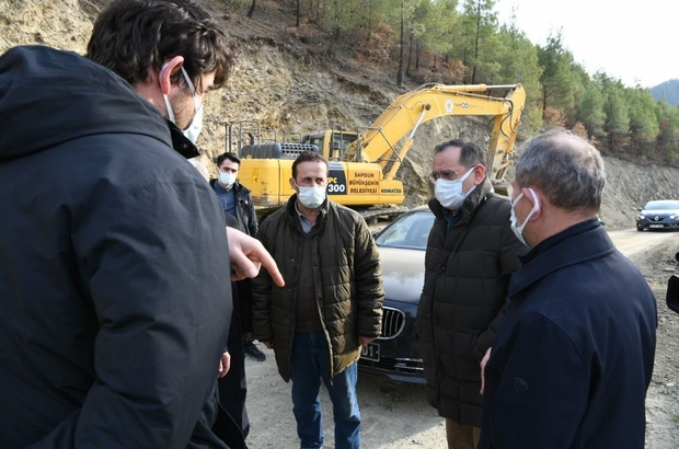 Başkan Demir'den projelere yakın takip