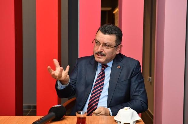 """Trabzon'un tarihi Yavuz Selim sahası yeniden yapılacak Ortahisar Belediye Başkanı Ahmet Metin Genç """"Sümer'in ismini yaşatmak için gereken adımları atacağız"""" """"Abdullah hoca zor bir zamanda geldi"""""""