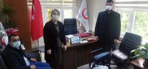 Söke MHP'den İlçe Sağlık Müdürlüğü'ne Dezenfektan Cihazı bağışı