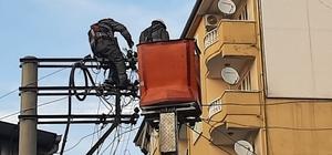 Silvan'da Dicle Elektrik kesintisiz enerji için çalışıyor