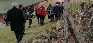 Şube müdürü yangın bölgesini incelerken kalp krizinden hayatını kaybetti