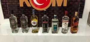 Didim'de kaçak içki operasyonu