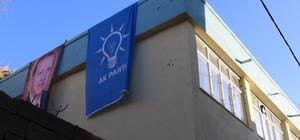 Husumetli aileler arasındaki tartışma AK Parti ilçe binasına taşındı: 3 yaralı