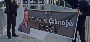 """Ülkü Ocakları'ndan İyi Parti'ye tepki Bursa Ülkü Ocakları İl Başkanı Cahit Özdemir: """"Şehidimizin adını pis siyasi ilişkilerinize alet etmeyin"""""""
