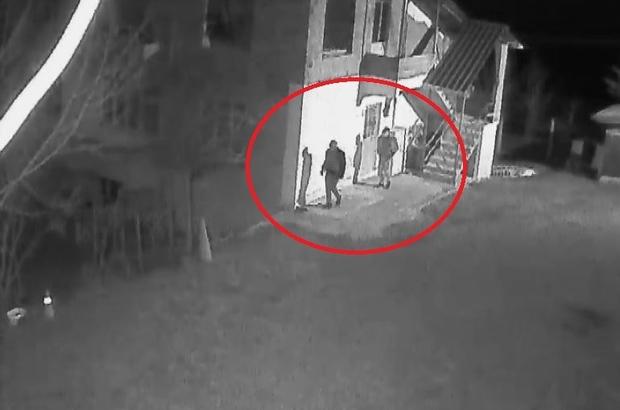 Evi ateşe verirken güvenlik kamerasına yakalandılar, serbest kaldılar