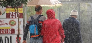 Aydın'a kuvvetli yağış uyarısı