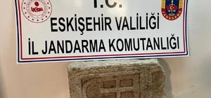 Tarihi eser kaçakçılarına operasyon: 2 gözaltı Bizans dönemine ait mezar stelini satmaya çalışırken yakalandılar