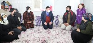 Başkan Beyoğlu yılın son gününü vatandaşları ziyaret ederek geçirdi