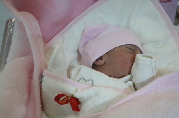 Sivas'ta yeni yılın ilk bebeği 00.02'de doğdu Sivas'ta, 2021 yılının ilk bebeği saat 00.02'de doğan Hacer İkra isimli bebek oldu. Bebeğe ilk hediye Vali Salih Ayhan'dan geldi.