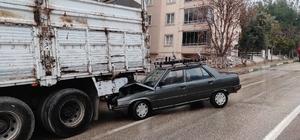 Bursa'da kayganlaşan yolda iki ayrı kaza meydana geldi