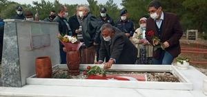 Karabacaklı , şehadetinin 5. yılında mezarı başında anıldı