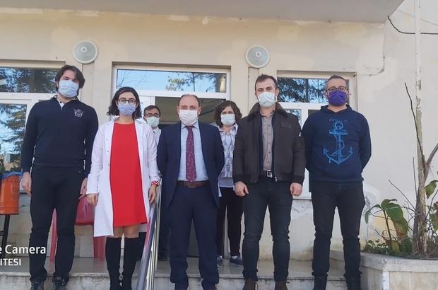 """Cide Kaymakamı'ndan korona virüs müjdesi Kaymakam Ömer Sağlam: """"İlçede salgın kontrol altına alındı"""""""