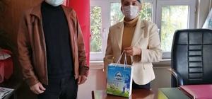 Söke Belediyesi sağlık çalışanlarını unutmadı