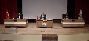 Biga Belediyesi'nin 2021 yılının ilk meclis toplantısı gerçekleştirildi