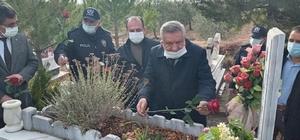 Şehit Polis Memuru Işalca, mezarı başında anıldı