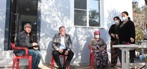 Meşeli Mahallesi'nde evi yanan vatandaşa Germencik Belediyesi'nden yardım eli Germencik'te evi yanan aile yeni evlerine kavuştu