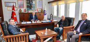 Germencik Belediye Başkan Yardımcısı Bircan, Başkan Atabay ile görüştü