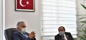 Başkan Büyükkılıç'tan dört ilçeye doğalgaz müjdesi