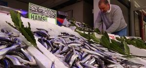 """Yasak öncesi son hamsiler tezgahlarda 10 günlük avlanma yasağı getirilen hamsiler, son gün tezgahlarda 20 liradan satılıyor Perşembe Balıkçılar Birliği Kooperatif Başkanı Ünal Karadeniz: """"Sürdürülebilir balıkçılık adına alındığı için biz de bu kararı memnuniyetle karşılıyoruz"""""""
