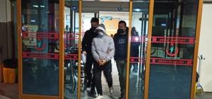 Komşu ilçeden hırsızlığa gelen şüpheli tutuklandı