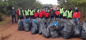 Eskişehir Kent Ormanı çöplerden temizlendi