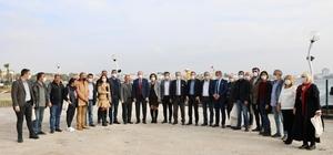 Başkan Atabay '10 Ocak Çalışan Gazeteciler Günü' dolayısıyla basın mensupları ile buluştu