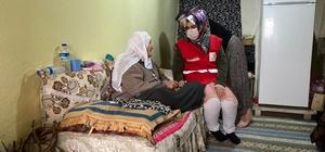 Türk Kızılayından engelli, yaşlı ve hastalara ziyaret