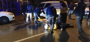 Bursa'da meydana gelen kazada kurye yaralandı