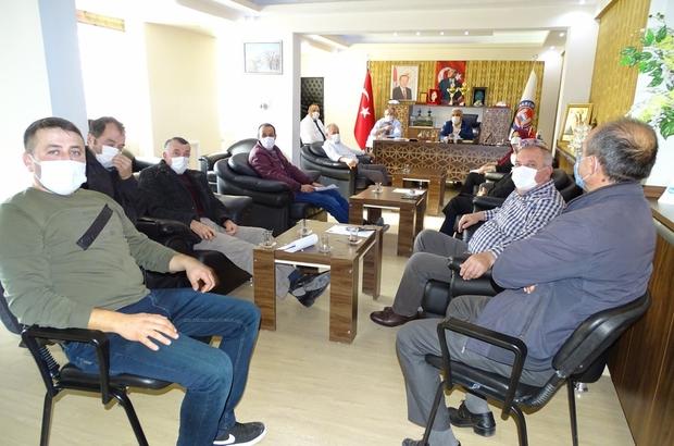 Hisarcık Belediye Meclisi yılın ilk toplantısını yaptı