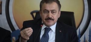 """Eski Bakan Veysel Eroğlu'ndan Aydın açıklaması """"Aydın'ın 141 yıllık hayalini biz gerçekleştirdik"""""""
