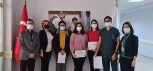 Söke'de uzmanlıklarını kazanan hekimlere teşekkür belgesi verildi