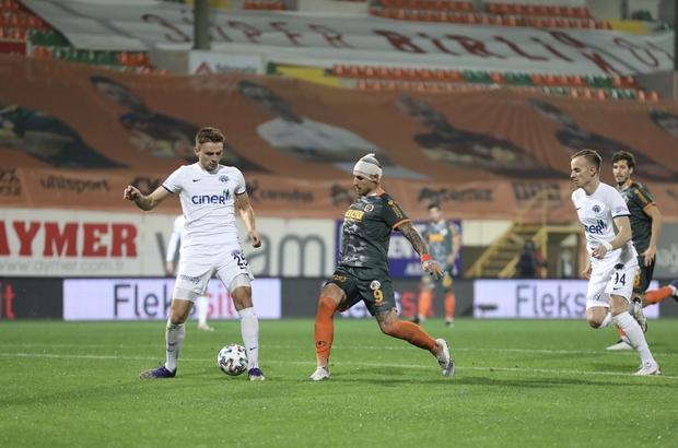 Süper Lig: Aytemiz Alanyaspor: 1 - Kasımpaşa: 2 (Maç sonucu)