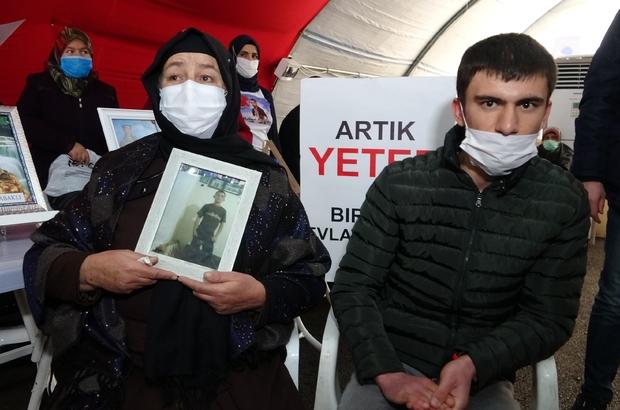 Askeri giyim malzemeleri satılan dükkanda çalışıyordu, teröristler tarafından kaçırıldı HDP önündeki ailelerin direnişi büyüyerek devam ediyor