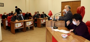 Erzincan'da ocak ayı meclis toplantısı yapıldı