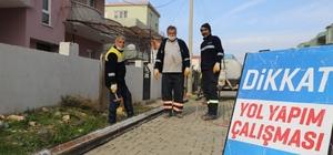 Belediye ekipleri Didim'de çalışmalarını sürdürüyor