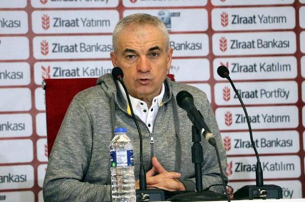"""Rıza Çalımbay: """"Hak ettiğimiz bir galibiyet aldık"""" Sivasspor Teknik Direktörü Rıza Çalımbay: """"Arkadaşlarımız çok yorgun ve bitkin"""" """"Zorda olsa kendi sahamızda galip gelip turu geçtik"""""""