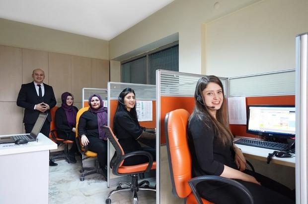 """Nevşehir Belediyesi Çağrı merkezi geçen yıl 104 bin 167 çağrıya cevap verdi Vatandaş ile belediye arasında köprü """"153 Çağrı Merkezi"""""""