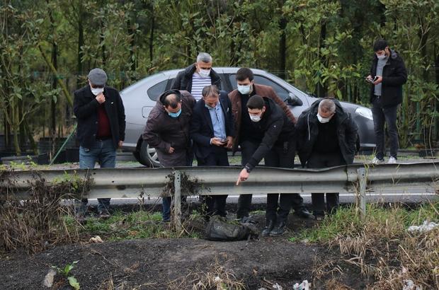 Et ve kemik parçalarının bulunduğu bölgede ikinci bir çanta bulundu Derede dün bulunan çantanın içerisindeki parçaların insana ait olduğu öğrenildi Bugün bulunan çanta için ekipler inceleme başlattı