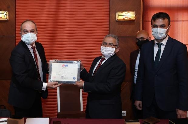 Erciyes'e bir ödülde Avrupa Komisyonu'ndan