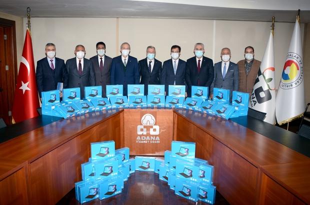 """""""TOBB Küçük Parmaklar"""" tablet dağıtım kampanyası Adana Ticaret Odası, Sanayi Odası ve Ticaret Borsası 200 adet tablet bağışladı"""