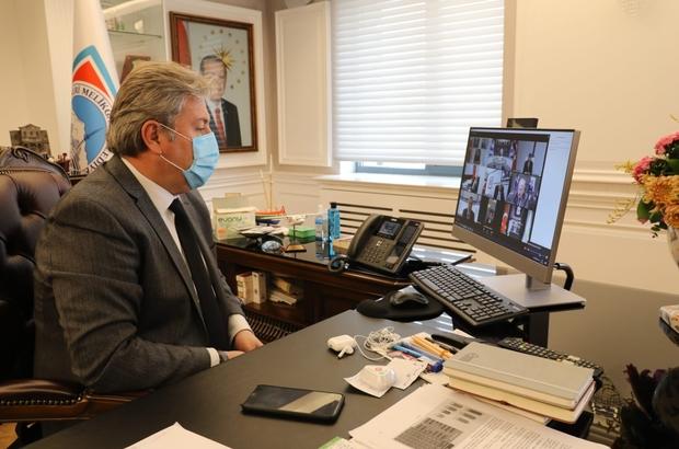 Başkan Palancıoğlu, yenilenebilir ve akıllı enerji uygulamaları toplantısına katıldı