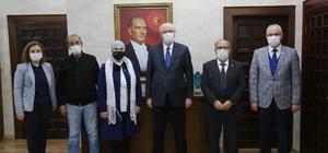 71 Evler'den Başkan Kurt'a teşekkür ziyareti